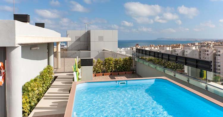 Nh alicante for Hotel diseno alicante